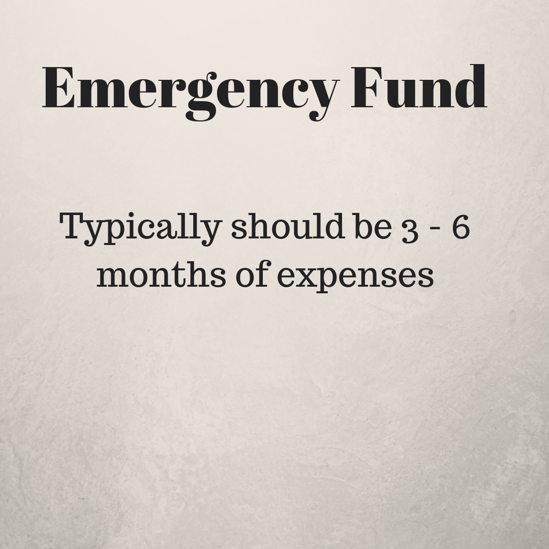 Emergency Fund Recommendation